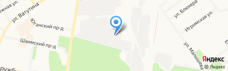 ТюменьВостокТранс на карте Тюмени