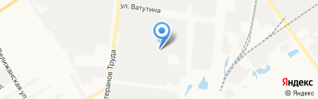Муромец на карте Тюмени