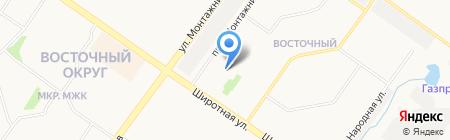 Мелисса на карте Тюмени