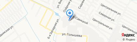 Ремстройуникум на карте Тюмени