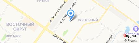 СтройСпецСервис на карте Тюмени