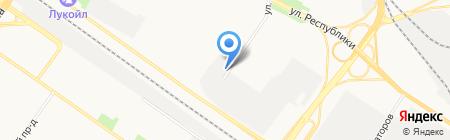 ТюменьОпт на карте Тюмени