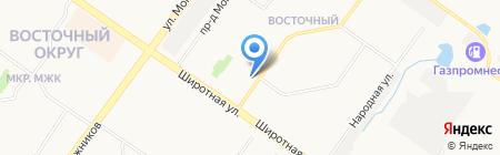 ГЕСКОМ ГРУПП на карте Тюмени