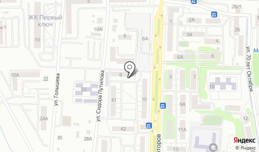 Сибирь-28. Схема проезда в Тюмени