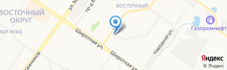 Огонёк на карте Тюмени