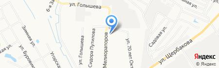 ЮлиАнна на карте Тюмени