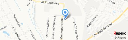 Час пик на карте Тюмени