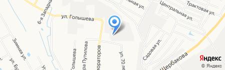Тюменьнефтегазсервис на карте Тюмени