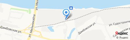 Металл-Завод на карте Тюмени