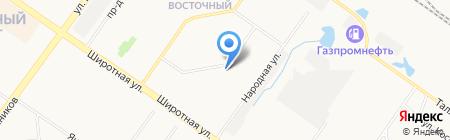 Гармония на карте Тюмени