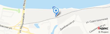 Автомобильные и оконные пленки на карте Тюмени