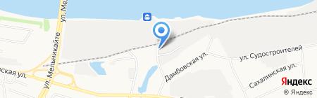 Матроскин на карте Тюмени