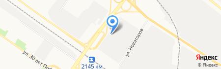 Гермет Групп на карте Тюмени