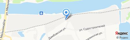 АТ-СЕРВИС на карте Тюмени