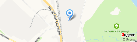 ТюменьАвтоДизельСервис на карте Тюмени