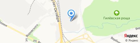Стэп на карте Тюмени