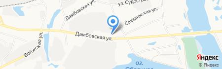 Банкомат ФКБ Петрокоммерц на карте Тюмени