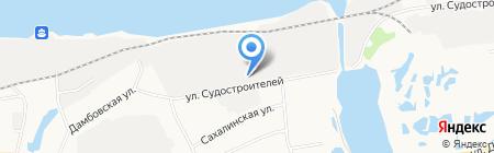 Эра-Тюмень на карте Тюмени