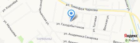 ЕвроАвтоТрейд на карте Тюмени