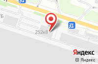 Схема проезда до компании Инновации-Сервис в Тюмени