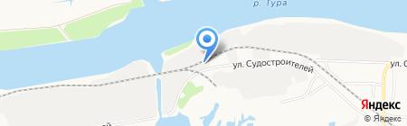 БМ-ПАК на карте Тюмени