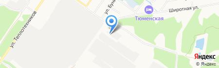 Орбита на карте Тюмени