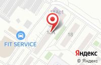 Схема проезда до компании Акватех альянс в Домодедово
