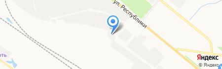 Урал-Контейнер на карте Тюмени