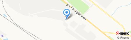Армтехсервис на карте Тюмени
