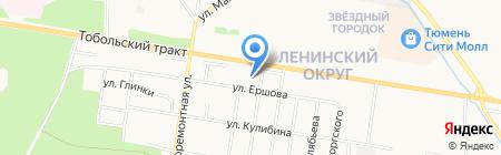 Детский сад №65 на карте Тюмени