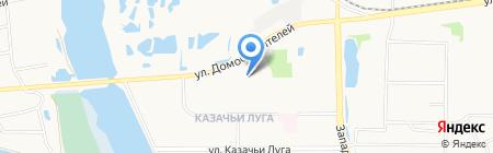 Даймет на карте Тюмени