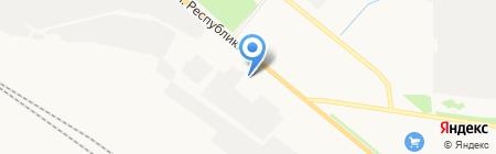 Промвентиляция на карте Тюмени