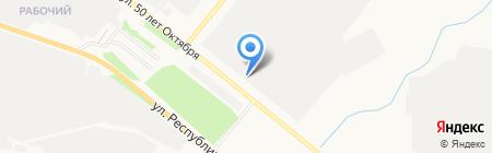 Автостекло-Дом на карте Тюмени