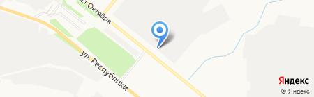 ПромСтройКомплект на карте Тюмени