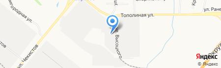 ЭКО-плит на карте Тюмени
