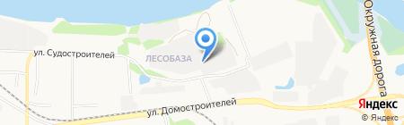 Караван на карте Тюмени