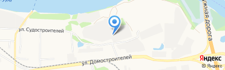 ФаМеКС на карте Тюмени