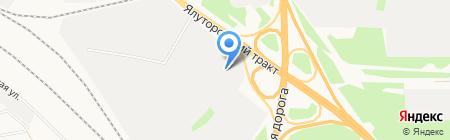 Арболит-Тюмень на карте Тюмени
