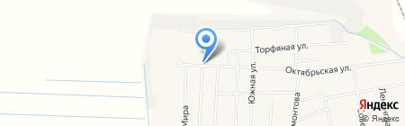 Киоск по продаже печатной продукции на карте Боровского
