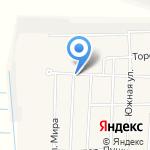 Мясной на карте Боровского