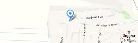 Акант на карте Боровского