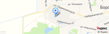 Роботизированные доильные системы на карте Боровского