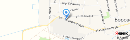 Бетиз на карте Боровского