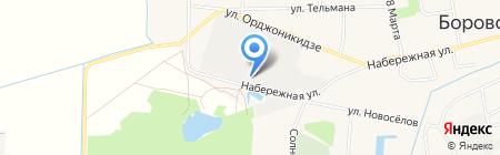Гарантия 2 на карте Боровского