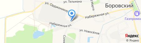 ТСК-Т на карте Боровского