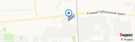 АМС+ на карте Тюмени