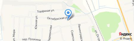 Инкубатор на карте Боровского
