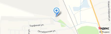 Боровская на карте Боровского