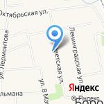 Учебный комбинат на карте Боровского