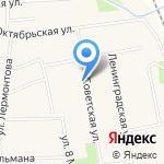Барвиха на карте Боровского